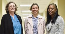 UT Tyler's Six Female Civil Engineering Graduates